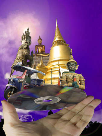 travel throughout Thailand , with the CD ,