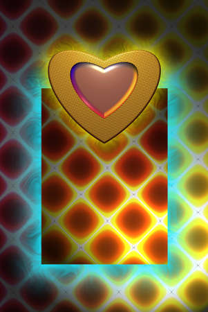 heart Colorful surface. abstract background space for text