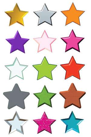 Set stars