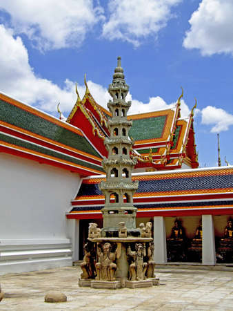 Wat pho Bangkok, Thailand Stock Photo