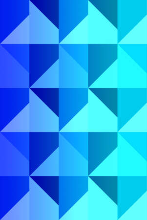 blue abstract composition