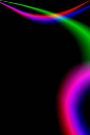 abstract background with colorful rainbow lines