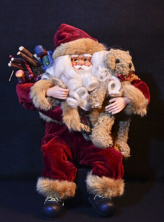 Santa Claus sitting photo