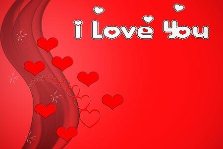 Valentine s greeting card Stock Photo - 17101426