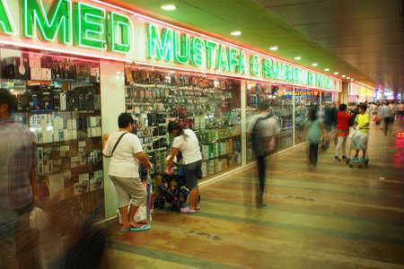 mustafa: Mustafa mall in Singapore