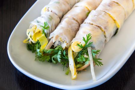 cuon: Goi Cuon Vietnamese Cold Fresh Spring Rolls Recipe