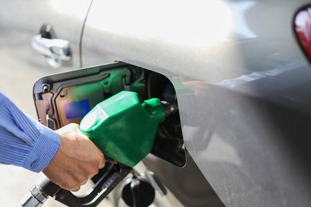 unleaded: Fill the gas tank eco car self service