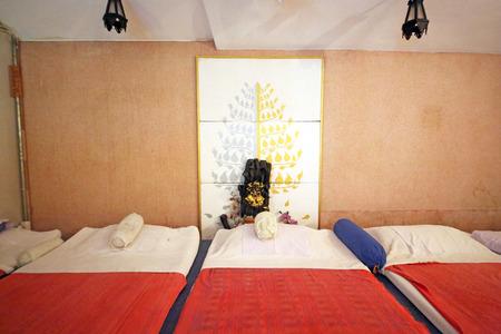 house robe: hall of Thai massage Stock Photo