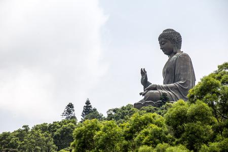 big buddha: Tian Tan Buddha Statue Lantau Island, Hong Kong