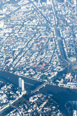 Bangkok top view Banco de Imagens