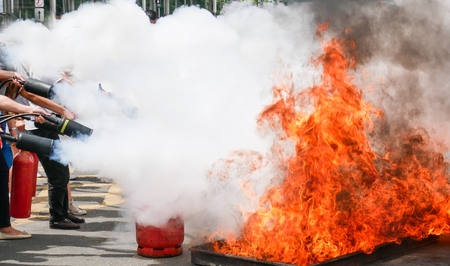 Practice a fire drill outdoor