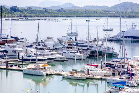 Ferry Port in Phuket, Thailand