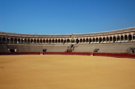corrida: Beautiful ar�ne de taureaux en Espagne. Banque d'images