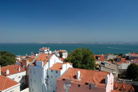 oporto: Panorama view from Oporto City in Lisboa