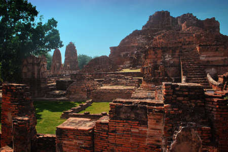 site: Ayuttaya archaeological site 10