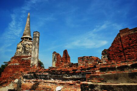 Ayuttaya archaeological site 7