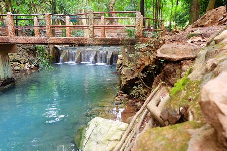 putt: Sa nam putt stream pool, Nakhonratchasima, Thailand Stock Photo