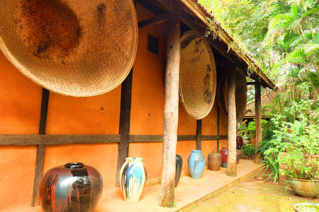 earthen: Earthen Huose , Baan Doi Din Deang, Chiang Rai, Thailand