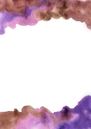 Abstract dirty purple and brown watercolor hand painting background for decoration for mythic artwork. 版權商用圖片
