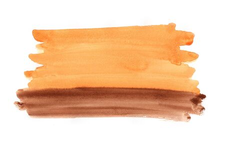 Abstract watercolor painting brush stroke background.