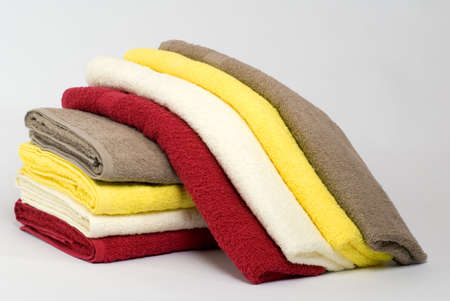 Pile of towels Stock Photo - 4733482
