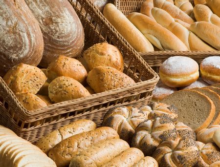 Assortment of bakery goods Stock Photo - 4800729