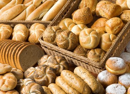 Assortment of bakery goods  photo