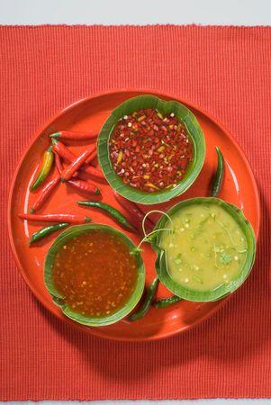 sauces: Hot sauces