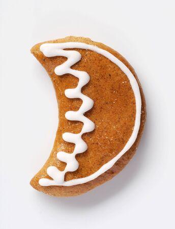 Lebkuchen-Cookie in Form von einem Mond Lizenzfreie Bilder - 5277485