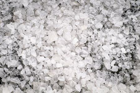 Macro of sea salt crystals Stock Photo - 5286495