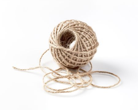 pack string: Ball of thick string - studio shot