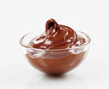chocolate melt: Dessert al cioccolato  Archivio Fotografico