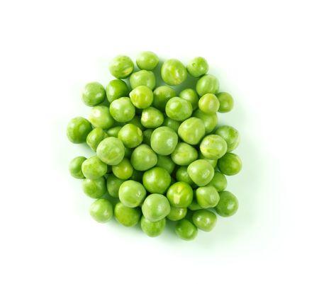 Group of fresh green peas