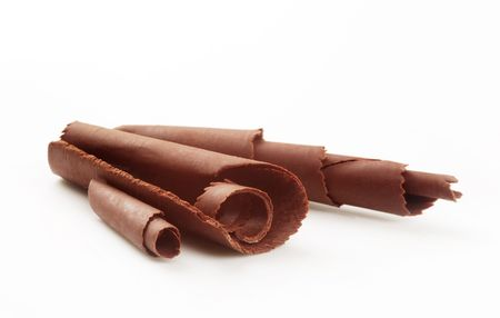 Chocolate curls Stock Photo - 5441687