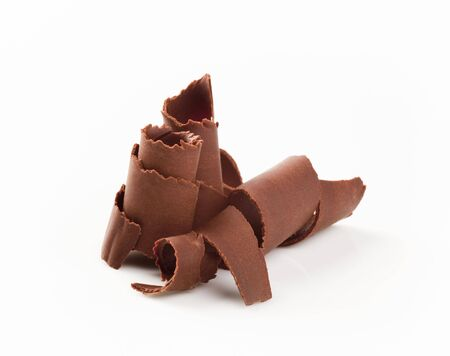 Closeup of chocolate curls Stock Photo - 5441703