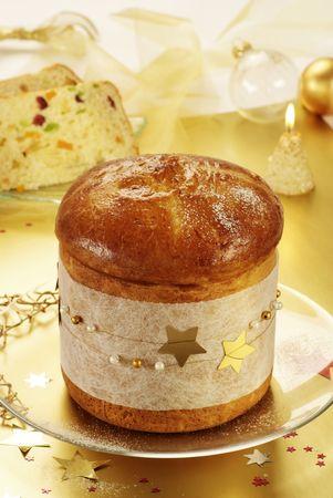 Christmas fruitcake  photo