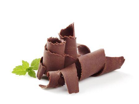 Chocolate curls  photo