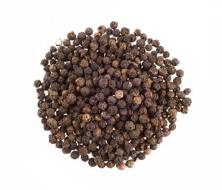 Mucchio di pepe nero in grani Archivio Fotografico - 5441738