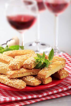 nibbles: Crispy snacks  Stock Photo