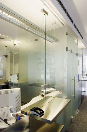 partition: Customer service window