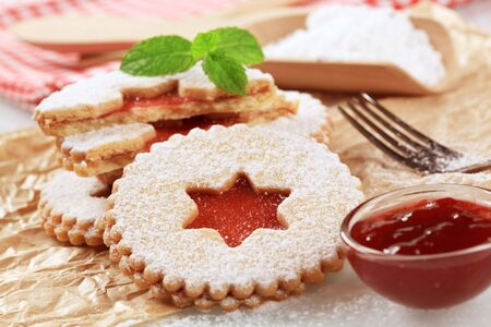 Shortbread cookies photo