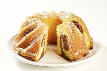slice cake: Torta di marmo