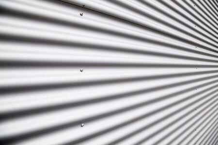 Corrugated metal sheet Stock Photo - 5959759