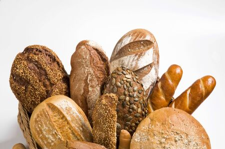 Various types of bread  Stock Photo - 6446124