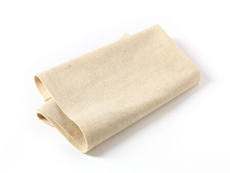 serviette: Linen napkin  Stockfoto
