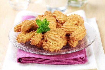 galletas: Cookies en forma de S