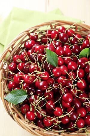bing: Fresh red cherries