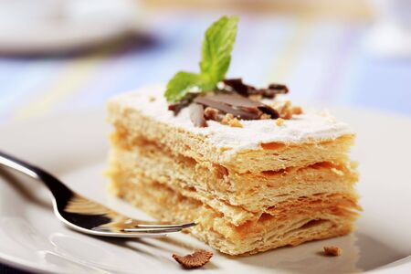 Dessert - Slice of Millefoglie photo
