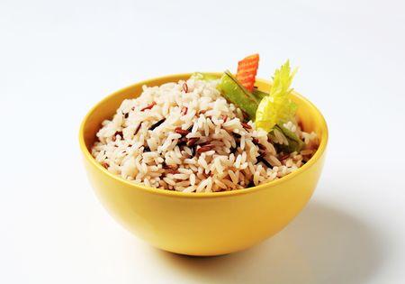 accompagnement: Cuit de bol de riz mixte - studio