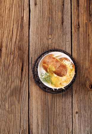 Baked potato with two kinds of cheese Stock Photo - 9148704